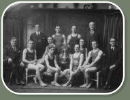Willie Foster and the Bacup Water Polo team